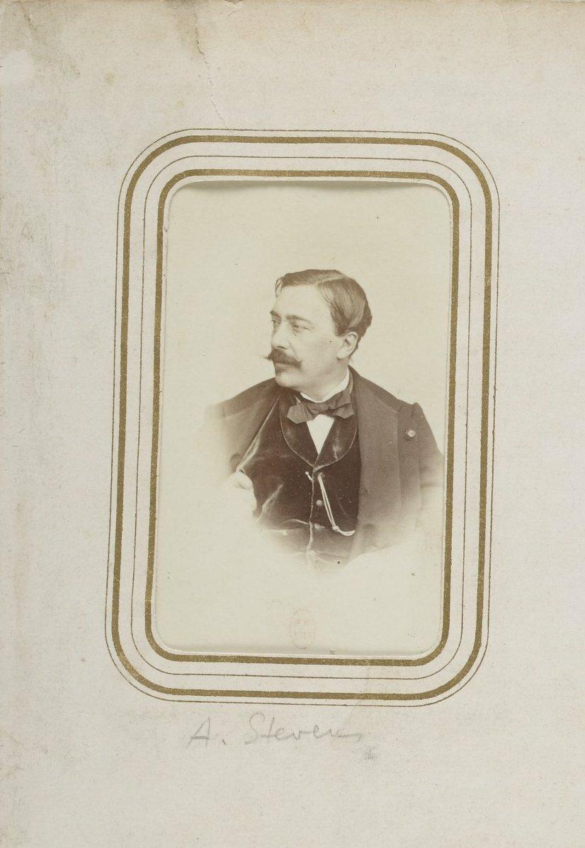 Альфред Эмиль-Леопольд Стевенс (11 марта 1823 г. Брюссель — 29 августа 1906 г. Брюссель) — бельгийский художник академического направления