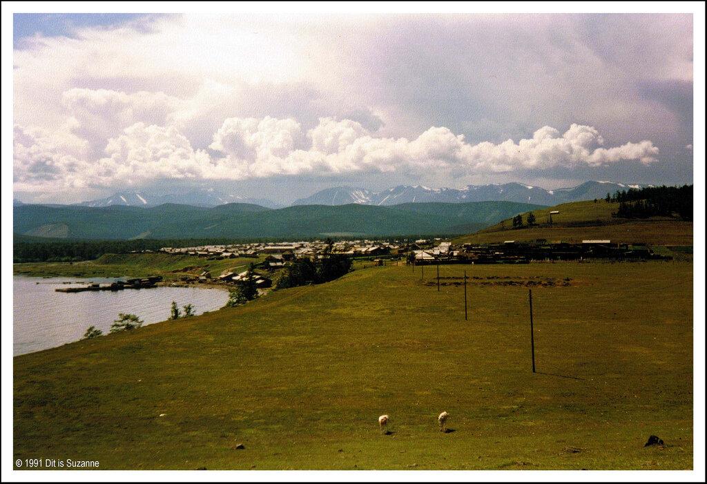 Сибирь. Недалеко от Северобайкальска, 10-07-1991