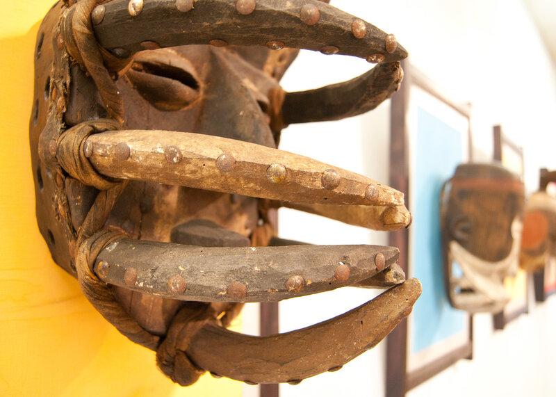 Маска. Нгере. Кот-д'Ивуар (Берег Слоновой Кости)