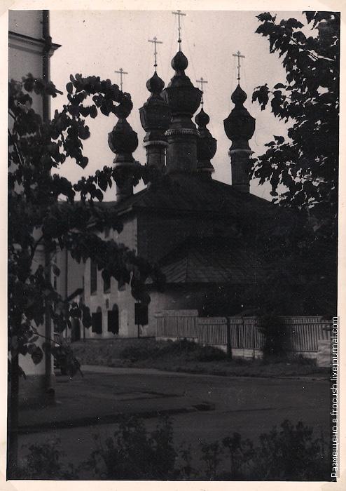 Ярославль. Церковь Благовещения Пресвятой Богородицы. Благовещенская церковь 1965 год