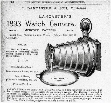 Victorian Spy Camera