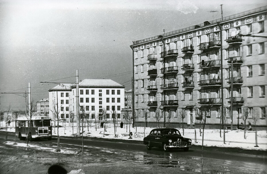 1960.02. Бульвар Ленина (теперь Чоколовский бульвар)