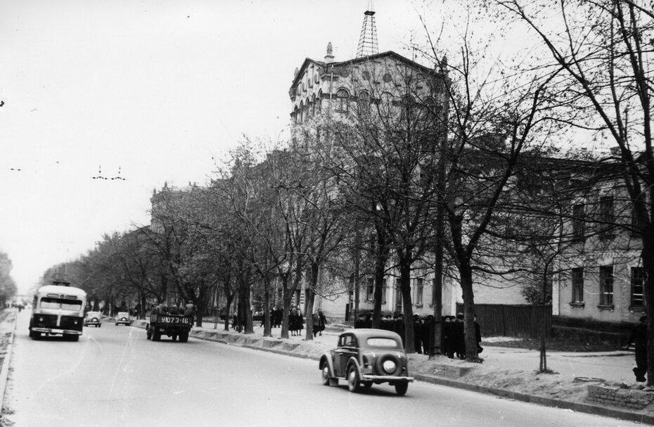 1953.10.23. Участок Брест-Литовского шоссе