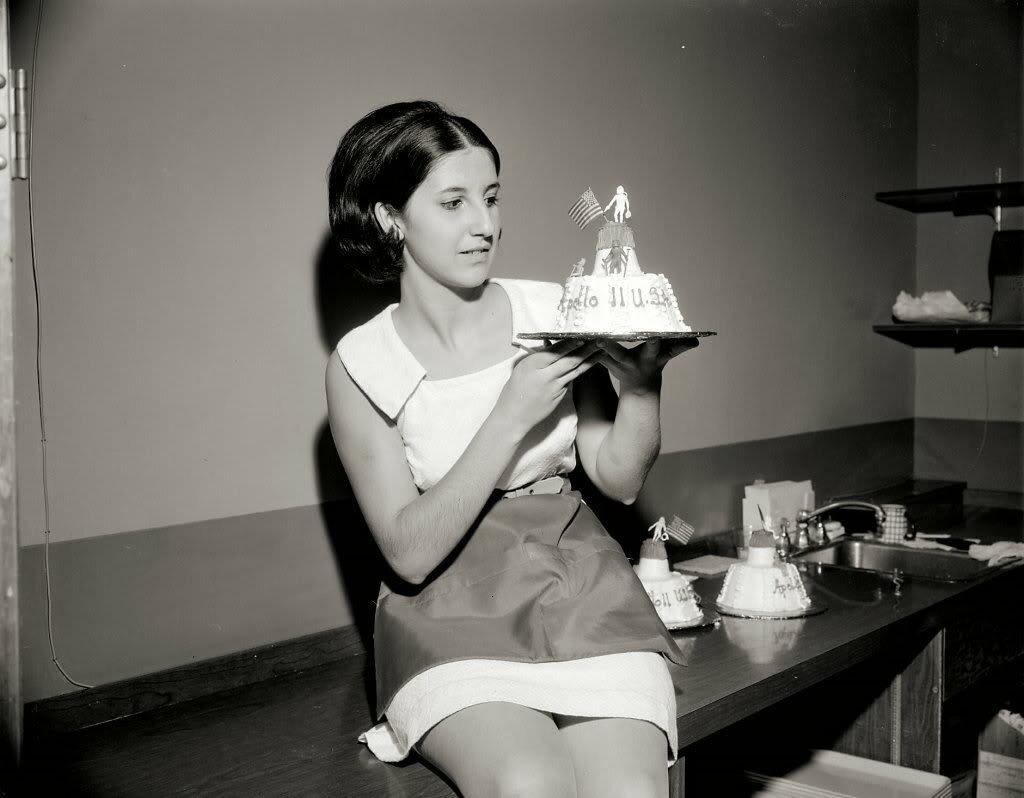 Apollo 11 Cake