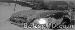Бельцких солдат отправили расчищать трассы от снега
