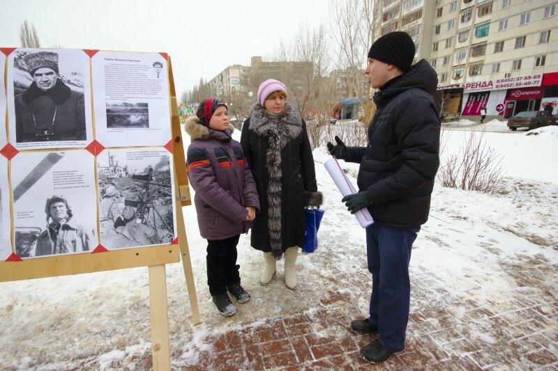 Рассказ о героях Сталинграда