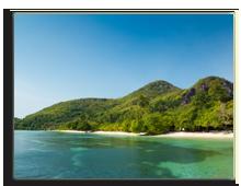 Сейшелы. Mountain in St. Anne Island, Seychelles. Фото Elena Kozlova - Depositphotos