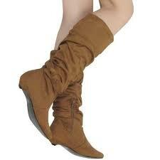 Нужен весьма хороший уход за обувью из замши