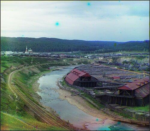 Общий вид Саткинского завода