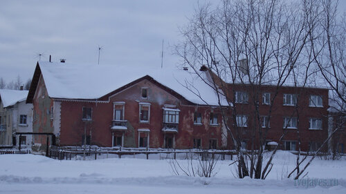 Фото города Инта №2819 Коммунистическая 11, 10 и 9 31.01.2013_13:30