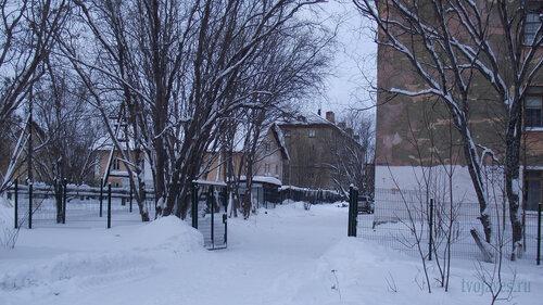 Фото города Инта №2848  Коммунистическая 5, 6, Гагарина 11 и Коммунистическая 22 31.01.2013_13:35