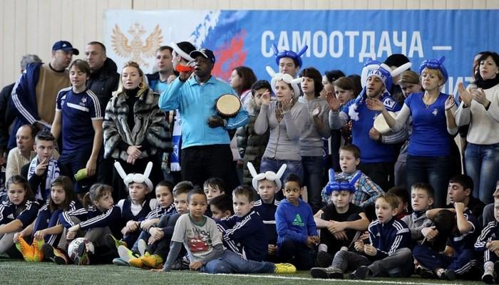 Международный турнир Кубок Игоря Колыванова U-10. Манеж ФШ Чертаново.