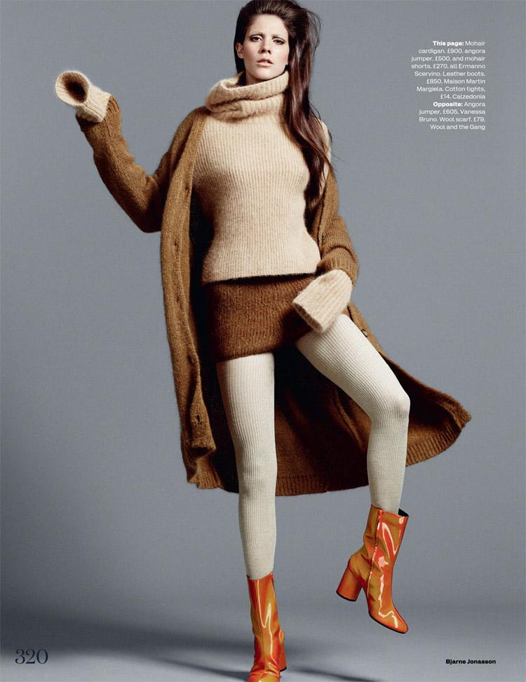Карла Киффони (Carla Ciffoni) в журнале Elle UK