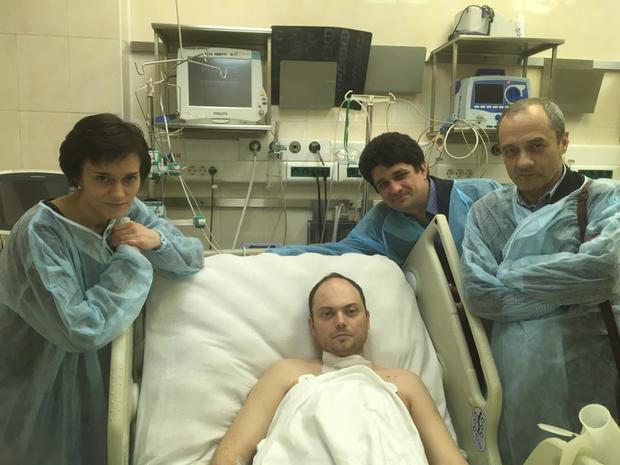 Кара-Мурзу-младшего отправили заграницу после отравления