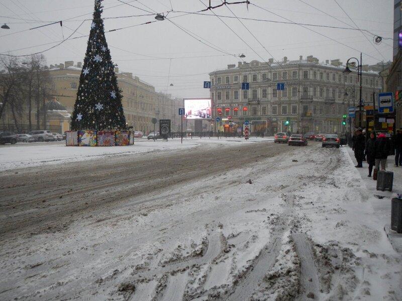 Ёлка на Владимирской площади