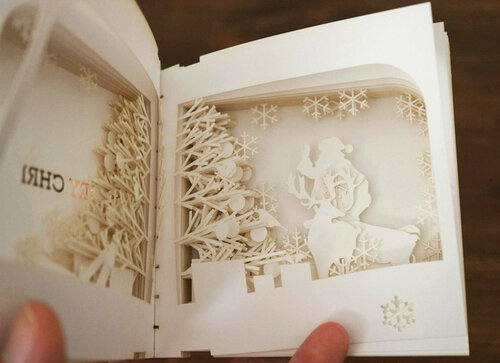 Книжка панорама своими руками