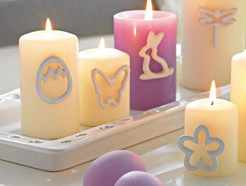 Пасхальные свечи