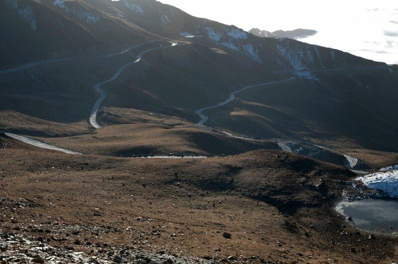 Петли горных дорог