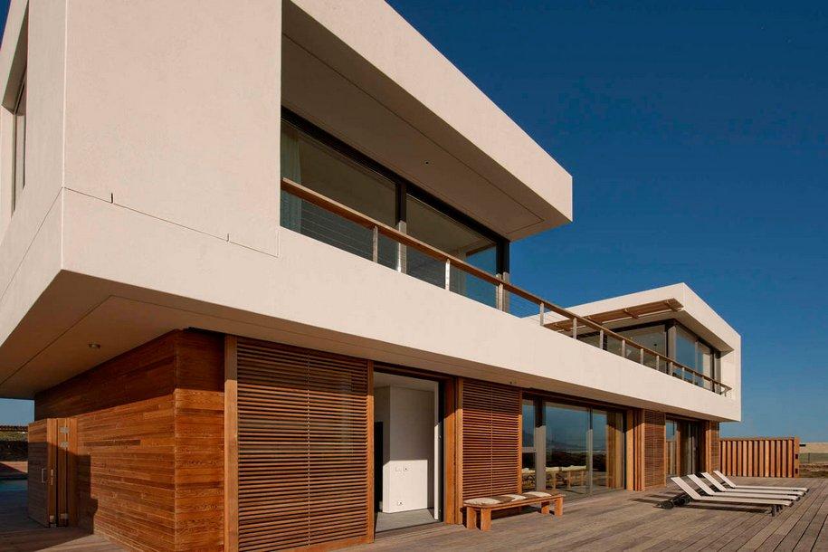 Большой пляжный дом с видом на Атлантический океан