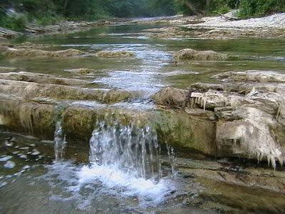 Пороги на горной реке Адегой