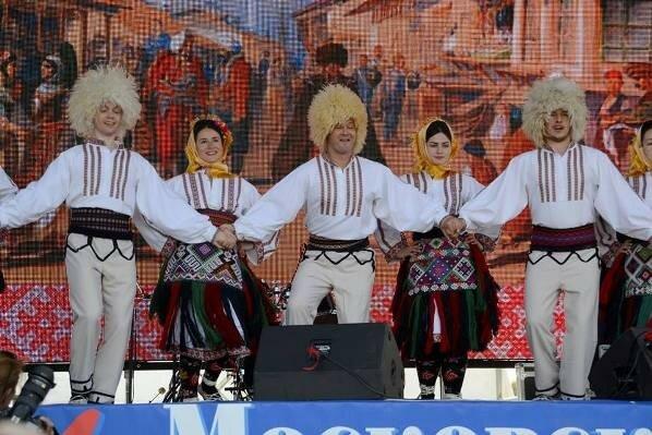 Москва, День города, Коло, сербы
