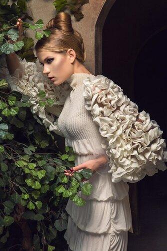 Белое платье для невесты ,сайт тwww.fashion-piart.ru