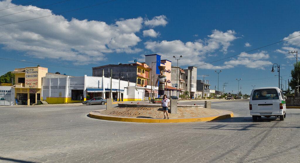 В городе Окосинго (Ocosingo) в Мексике. Отчет о самостоятельном путешествии за рулем в Сан-Кристобаль-де-лас-Касас