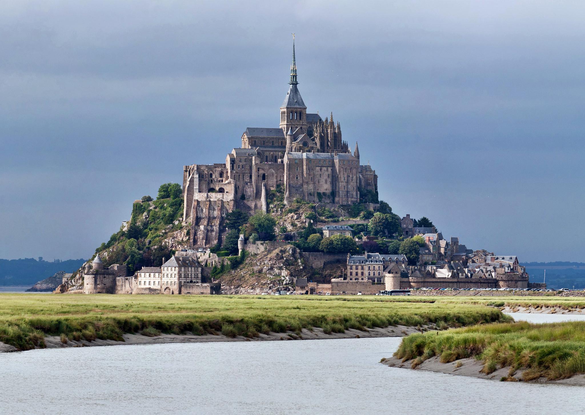 мон-сен-мишель фото франция