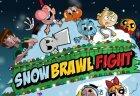 Игра в снежки с героями мультиков и винкс арты