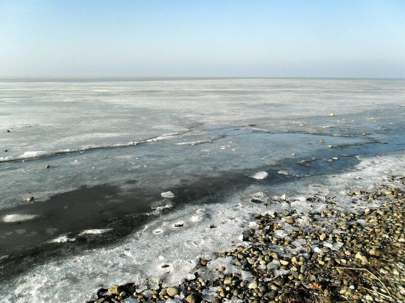 Январь 2013, новогодние мотивы, побережье Азовского моря