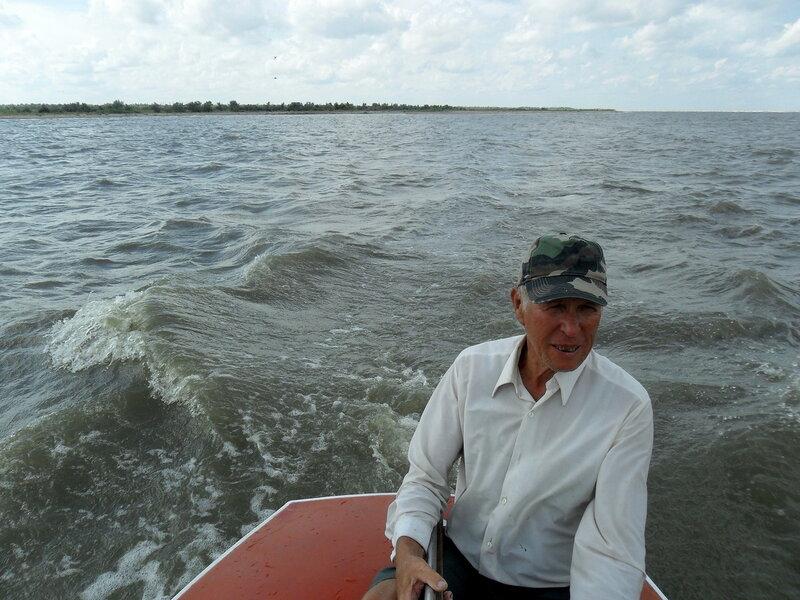 На яхте, Азовское море, август 2011