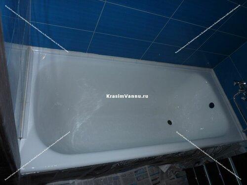 Эмалировка ванн методом налива после