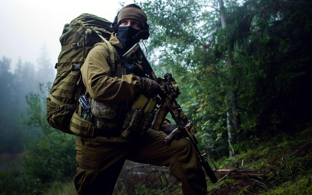 На учебном поле брани: Картинки из жизни бойцов различных спецназов (7)