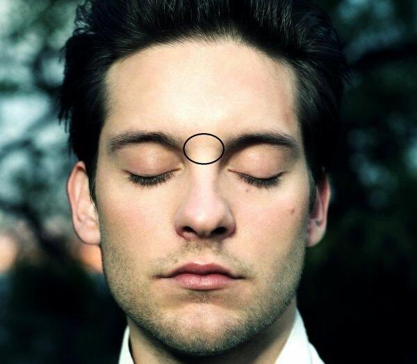 Глабель — это обозначение участка на лице человека, расположенного между бровями