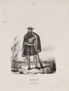 Рядовой. 1700-1720