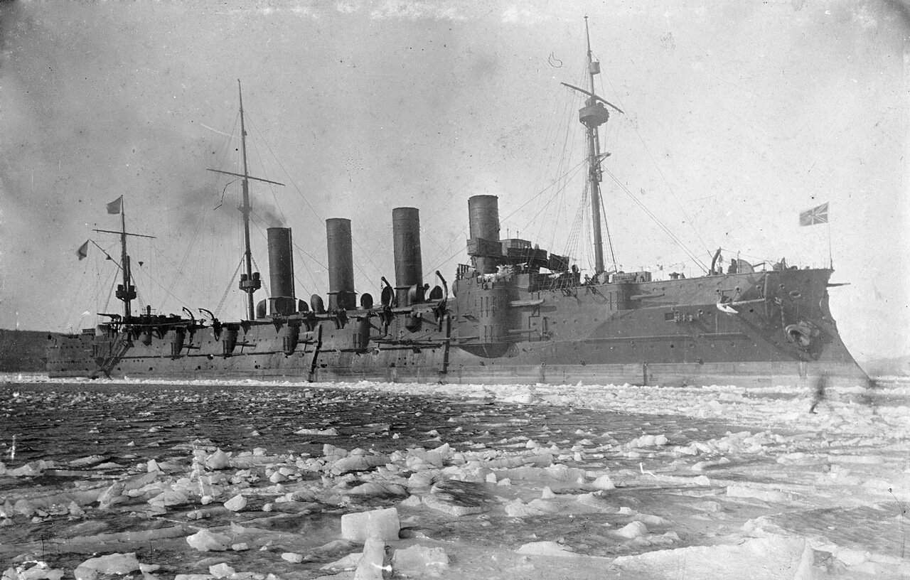Броненосный крейсер «Громобой».1904.