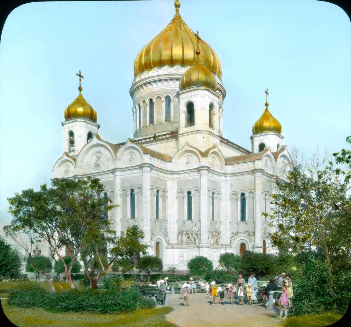Москва. Храм Христа Спасителя. Общий вид