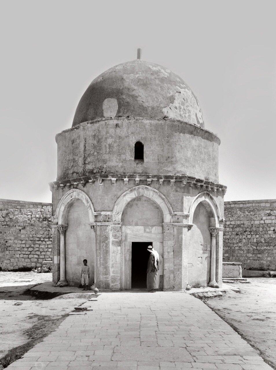 Купол Вознесения (Кубба́т аль-Мирадж), Иерусалим. Палестина 1900-1920 гг.