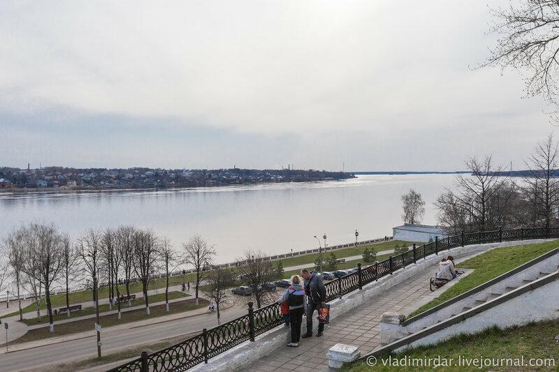 Река Волга. Кострома.