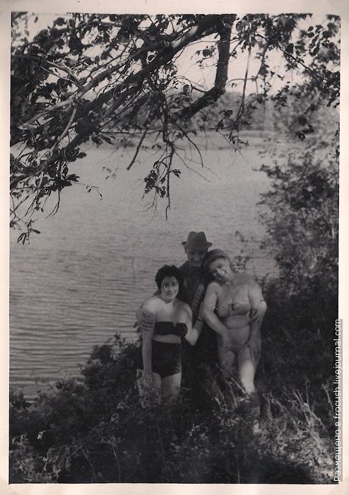 фото 1965 года Зеленая стоянка Чардым