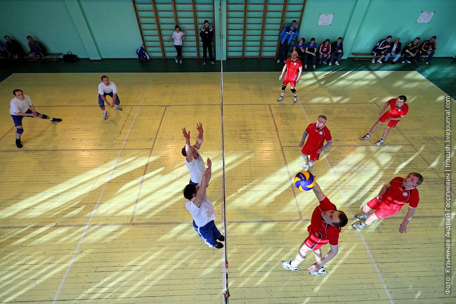 Команды по волейболу «Яхтенный порт» и «Порт Коломна»