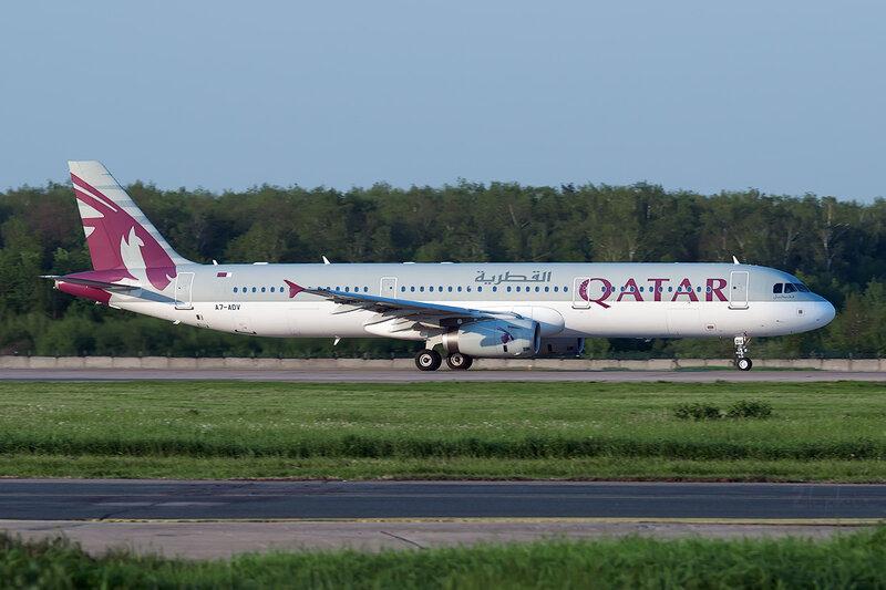 Airbus A321-231 (A7-ADV) Qatar DSC0649