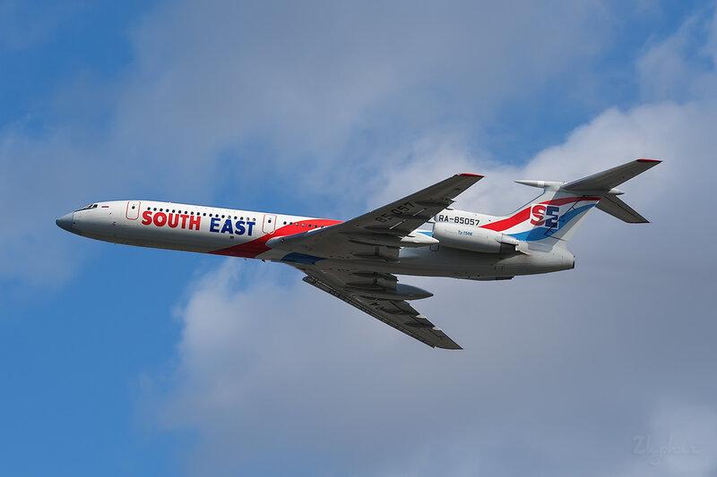 Туполев Ту-154М (RA-85057) South East DSC6832