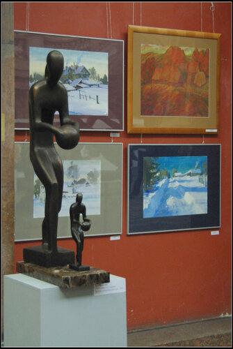 Выставка «Форма, пространство , человек»