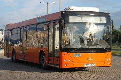 Партия белорусских автобусов МАЗ поступит в Молдову