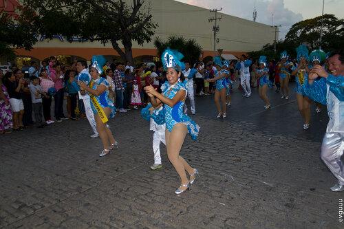 Мексиканский карнавал — репортаж из городка Канкуна