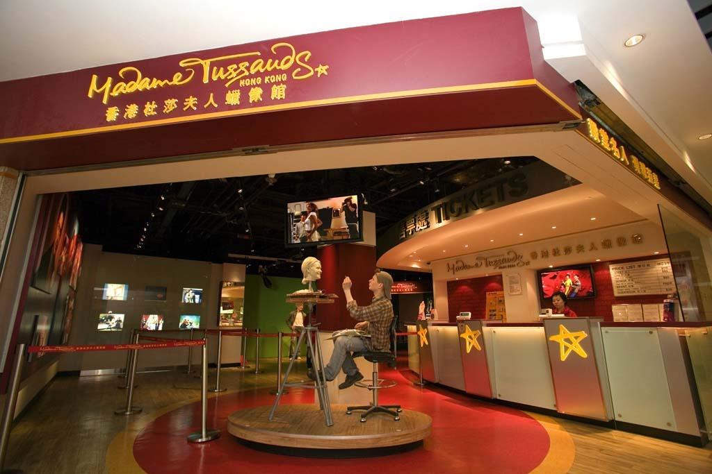 Музей мадам Тюссо в Гонконге