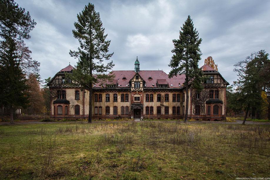 Заброшенный госпиталь Белиц-Хайльштеттен