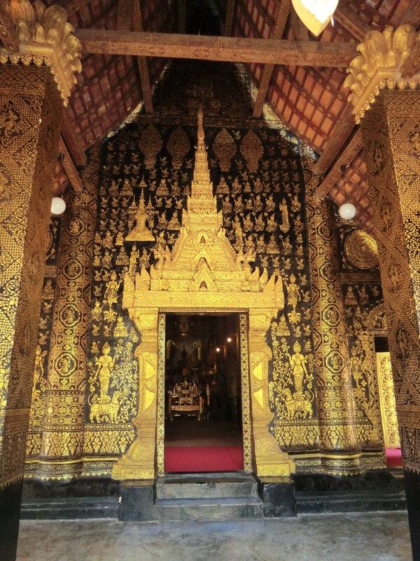 Лаос. Монастырь Ват Ксьенг Тхонг