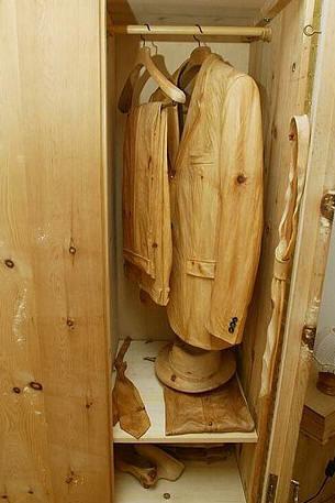 Деревянный мир итальянского мастера